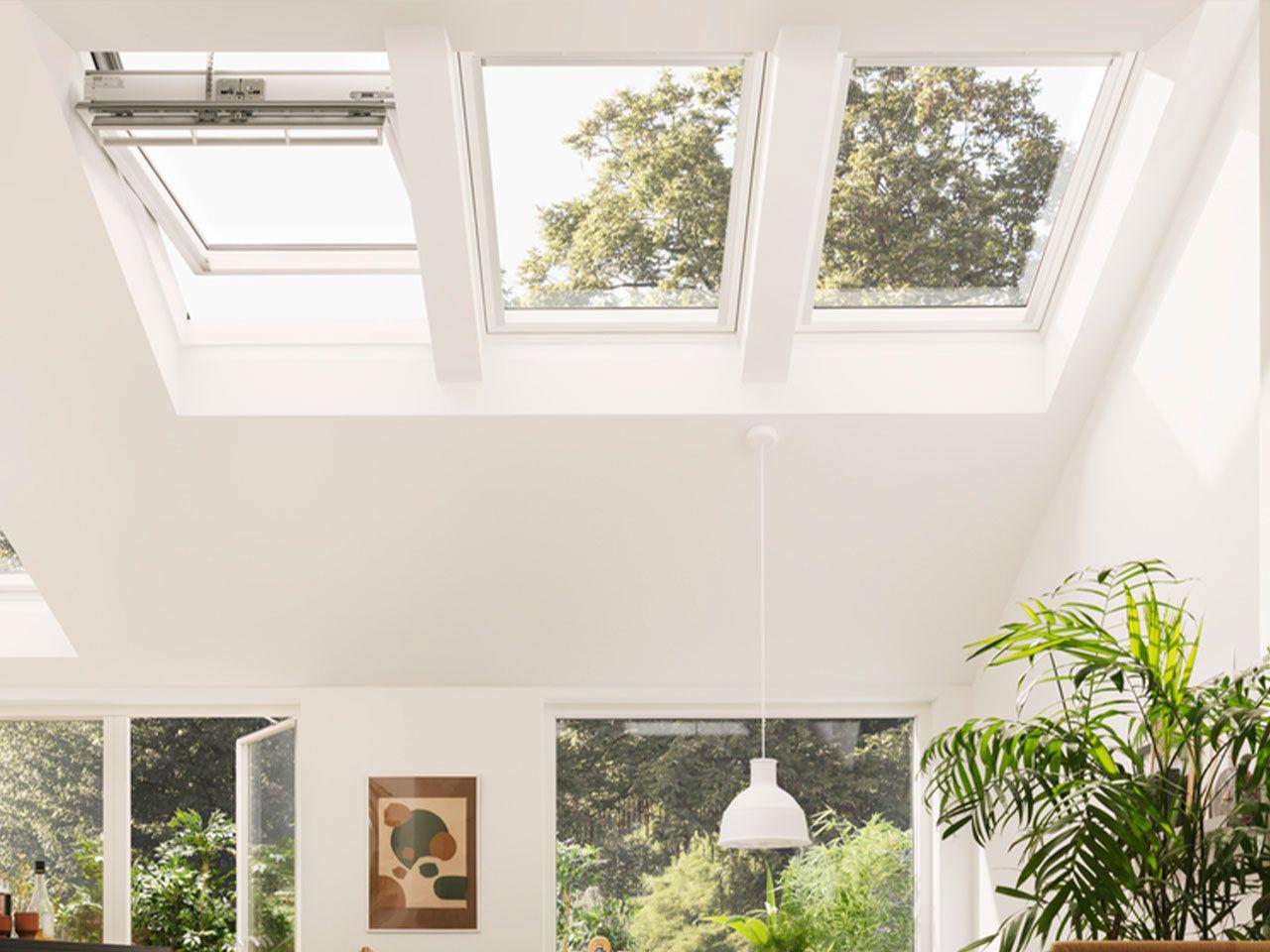 ventanas de tejado de accionamiento electrico o solar