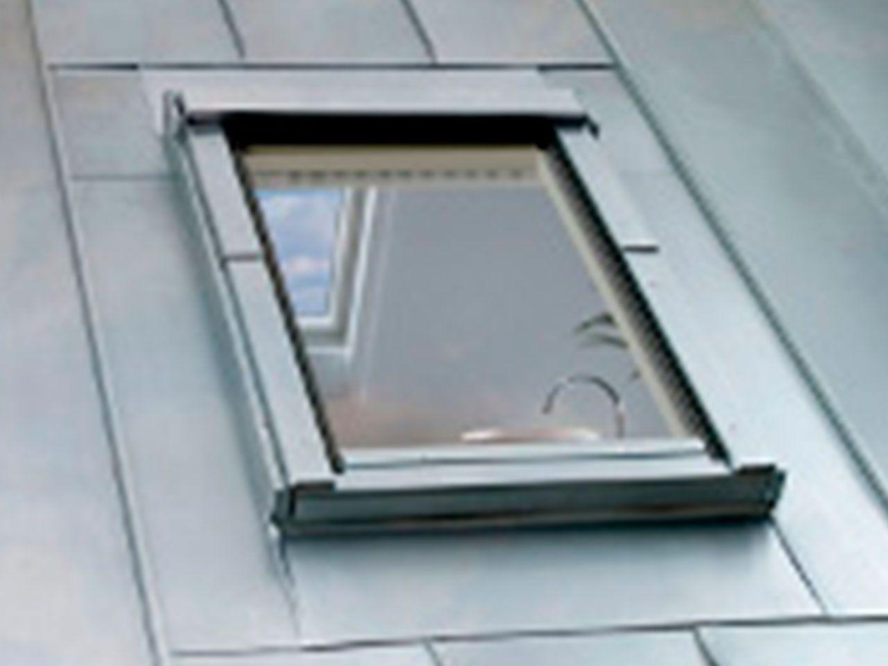 ventanas para tejados con perfiles no estandar