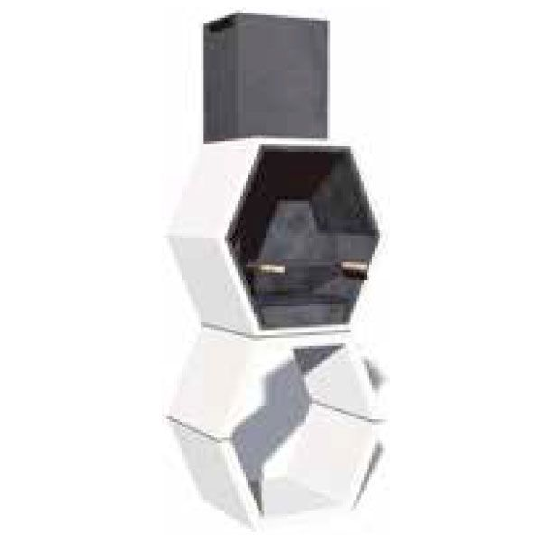 barbacoa modular simple con campana almacenes lavin