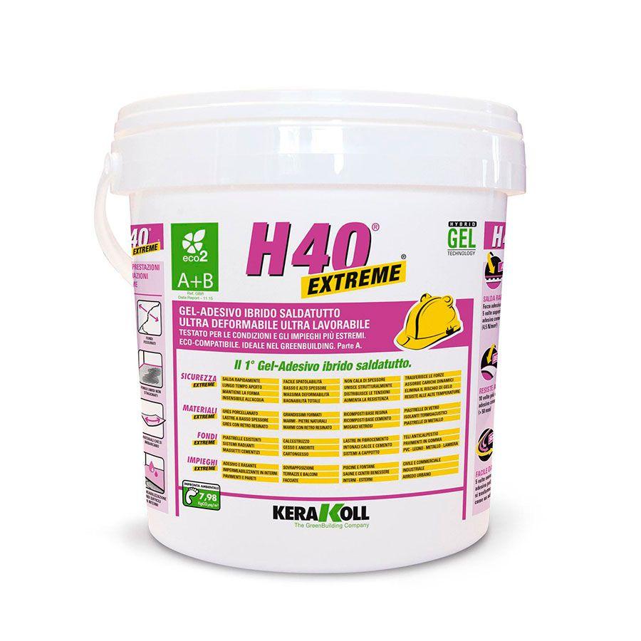 comprar gel adhesivo h40 extreme kerakoll