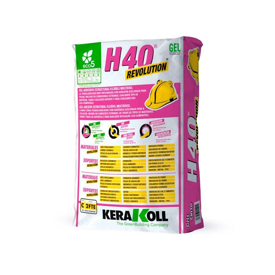 comprar gel adhesivo h40 revolution kerakoll